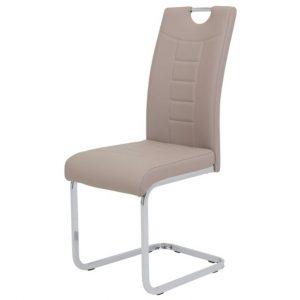 Sconto jídelní židle ruby s cappuccino - židle na SEDI.cz