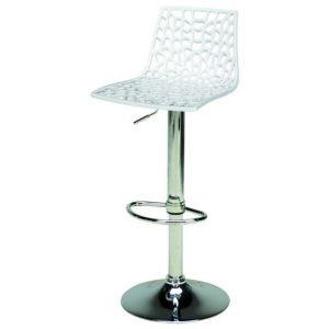Sconto barová židle spider bílá - židle na SEDI.cz