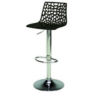 Sconto barová židle spider černá - židle na SEDI.cz