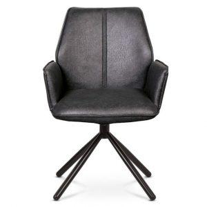 Jídelní sconto jídelní židle debora šedá/černá - židle na SEDI.cz