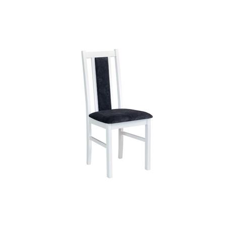 Jídelní židle boss 14 bílá tkanina 10 - židle na SEDI.cz