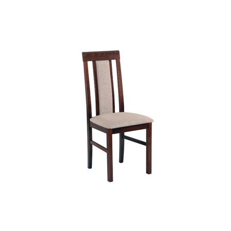 Jídelní židle nilo 2 bílá tkanina 10 - židle na SEDI.cz