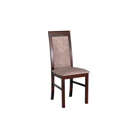 Jídelní židle nilo 6 bílá tkanina 10 - židle na SEDI.cz
