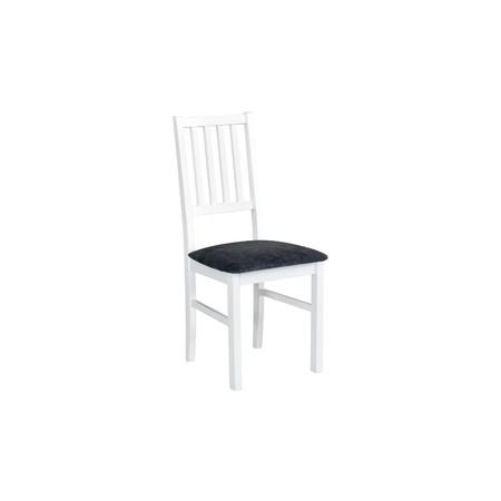 Jídelní židle nilo 7 bílá tkanina 10 - židle na SEDI.cz