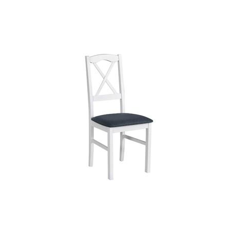 Jídelní židle nilo 11 bílá tkanina 10 - židle na SEDI.cz