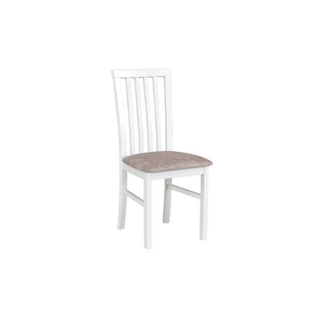 Jídelní židle milano 1 bílá tkanina 10 - židle na SEDI.cz