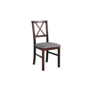 Jídelní židle milano 4 bílá tkanina 10 - židle na SEDI.cz