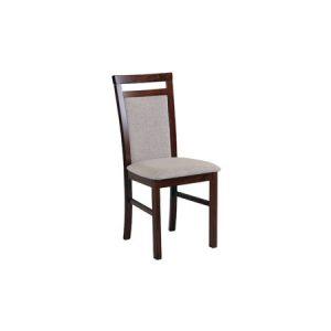 Jídelní židle milano 5 bílá tkanina 10 - židle na SEDI.cz