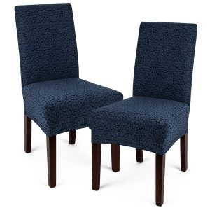 4Home Multielastický potah na židli Comfort Plus modrá