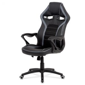 Kancelářská židle alien černá/šedá - židle na SEDI.cz