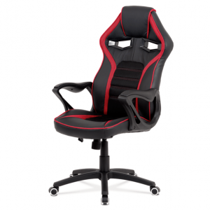 Kancelářská židle alien černá/červená - židle na SEDI.cz