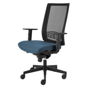 Kancelářská židle cameron modrošedá - židle na SEDI.cz