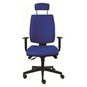 Kancelářská židle charles modrá - židle na SEDI.cz