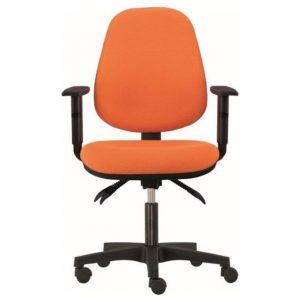 Kancelářská židle delilah oranžová - židle na SEDI.cz