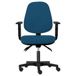 Kancelářská židle delilah modrošedá - židle na SEDI.cz