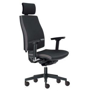 Kancelářská židle john černá/šedá - židle na SEDI.cz