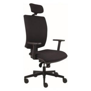 Kancelářská židle lauren černá - židle na SEDI.cz