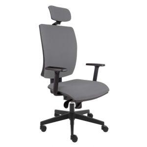 Kancelářská židle lauren šedá - židle na SEDI.cz