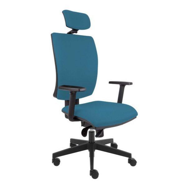 Kancelářská židle lauren modrošedá - židle na SEDI.cz