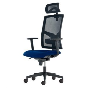 Kancelářská židle paige modrá - židle na SEDI.cz