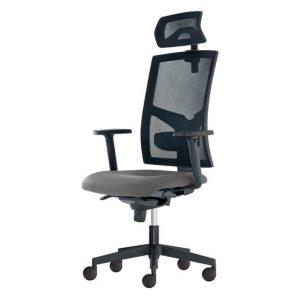 Kancelářská židle paige šedá - židle na SEDI.cz