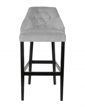 Barová židle cristal s kamínky - židle na SEDI.cz
