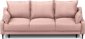 Rozkládací růžová rozkládací pohovka súložným prostorem mazzini sofas ancolie