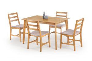 Set stůl a židle halmar jídelní sestava cordoba
