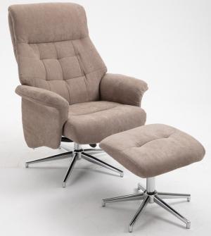 Relaxační tv křeslo s podnožkou poskytuje příjemné sezení u televize