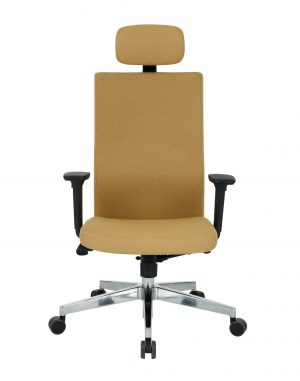 Kancelářská židle team plus hd chrome - židle na SEDI.cz