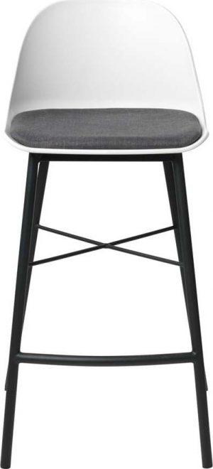 Bílá barová židle unique furniture whistler