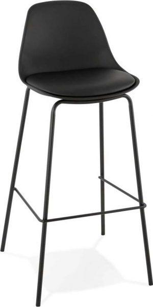 černá barová židle kokoon escal - židle na SEDI.cz