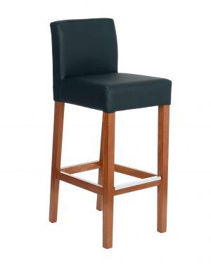 Snap simple 77 barová židle černá - židle na SEDI.cz