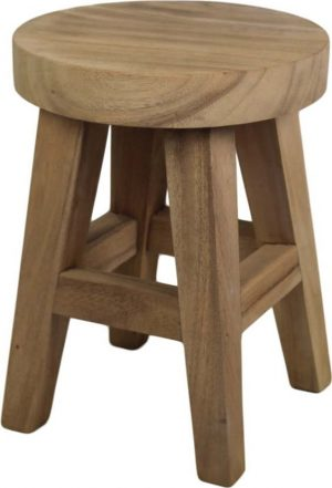 Stolička ze dřeva mungur hsm collection bubble