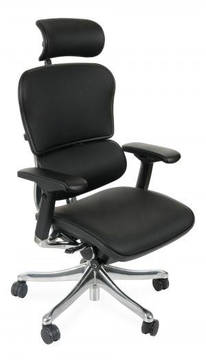 Grospol ergohuman plus elite le01 kancelářské židle černá - židle na SEDI.cz