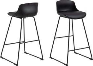 černá barová židle actona tina - židle na SEDI.cz