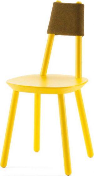 žlutá židle z masivu emko naïve - židle na SEDI.cz