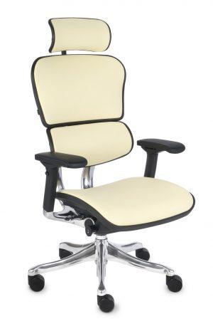 Grospol ergohuman plus elite le02 kancelářské židle béžová - židle na SEDI.cz