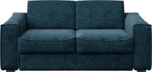 Tmavě modrá rozkládací pohovka mesonica munro