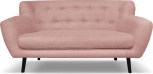 Dvoumístná světle růžová pohovka cosmopolitan design hampstead