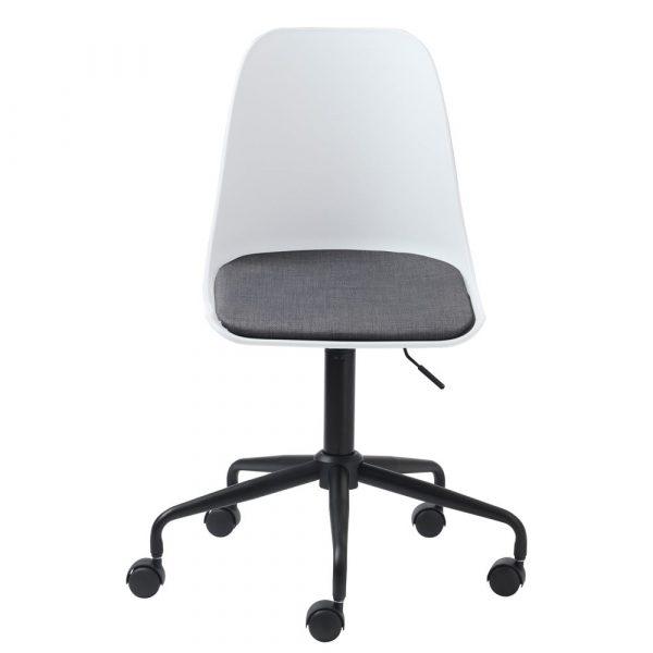 Bílá kancelářská židle unique furniture - židle na SEDI.cz