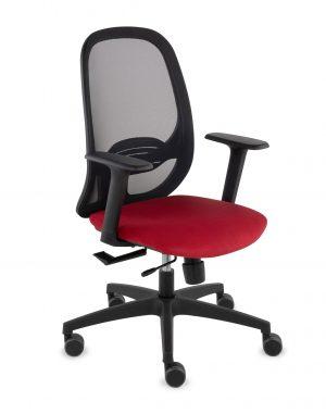Grospol nodi bs kancelářská židle červená - židle na SEDI.cz