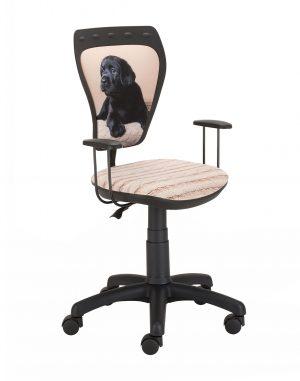 židle ministyle černá labrador - židle na SEDI.cz