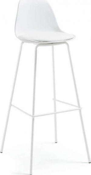 Bílá barová židle la forma lysna - židle na SEDI.cz