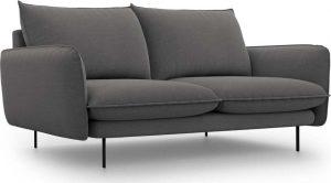 Dvoumístná tmavě šedá pohovka cosmopolitan design vienna