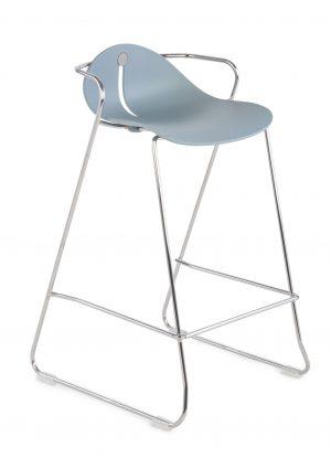 Grospol mariquita 78 barová židle polypropylen šedá - židle na SEDI.cz