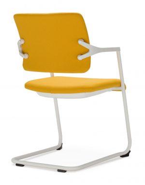 Nowy styl 2me-cfp konferenční židle žlutá - židle na SEDI.cz