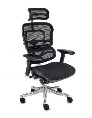 Grospol ergohuman plus elite bs kancelářské židle černá - židle na SEDI.cz