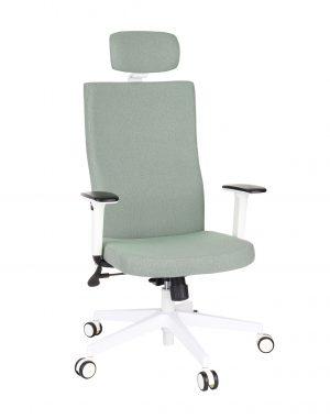 Kancelářská židle team plus hd white - židle na SEDI.cz