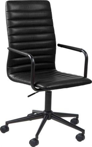 černá kancelářská židle na kolečkách actona wislow - židle na SEDI.cz